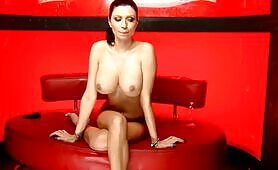 Lilly Roma live on the show