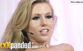 Michelle Moist Blonde British Babeshow Babe Uncut Exclusive xxXpanded Footage