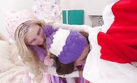 Riley Reid and Piper Perri Share Big Dick