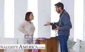 Naughty America - Adriana Chechik does anal with friend's dad
