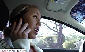 Naughty America - Nicole Aniston gets rent money and a bit extra from her Sugar Daddy!!