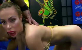 Busty babe Chessie Kay Pissing Gangbang - 666Bukkake