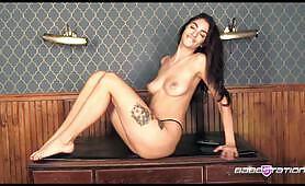 Natural long legged Eden Jay on Babestation TV